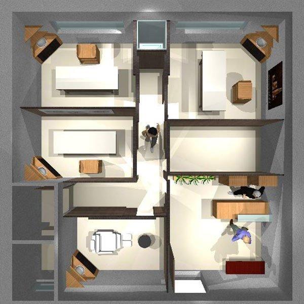 Esagono progettazione centri benessere estetici spa for Arredamento centro estetico prezzi